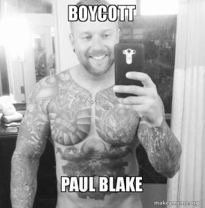 boycott paul blake
